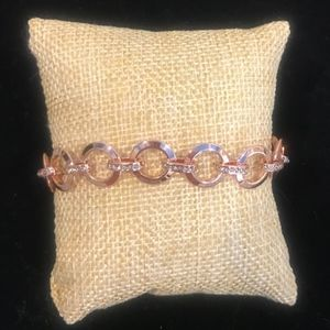 Jewelry - Fossil Rose Gold Bracelet